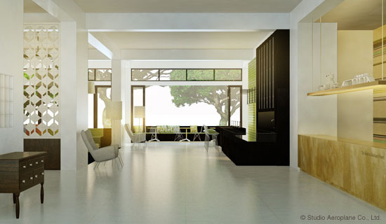 Studio Aeroplanes Blog Archive Interior Architecture Hotel Lobby In Progress